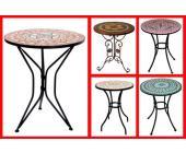gartentisch mosaik sch ne gartentische mosaik von m bel. Black Bedroom Furniture Sets. Home Design Ideas