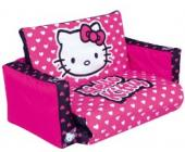 WORLDS APART Hello Kitty aufblasbares Kindersofa