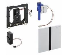 Geberit HyTronic Urinal-Steuerung Sigma50 verchromt Zink-Druckguss berührungslos Infrarot/Batterie 116036GH1