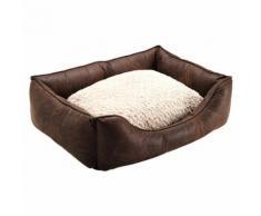 Hunter Hundesofa Liverpool braun, Größe: L