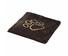 Nobby Schmutzfangmatte Dry & Clean braun für Hunde, Größe: L