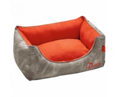 Hunter Hundesofa Belfast grau/orange, Größe: M