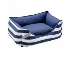Hunter Hundesofa Binz blau/weiß, Größe: L