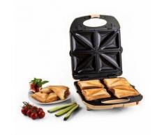 Klarstein - Trinity 3in1 Sandwich Maker XXL 1300 W creme