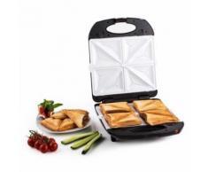 Klarstein - Trinity 3in1 Sandwich Maker XXL 1300 W schwarz