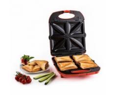 Klarstein - Trinity 3in1 Sandwich Maker XXL 1300 W rot
