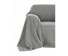 Acie Sesselüberwurf, grau