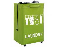heine home Damen Wäschesammler, grün