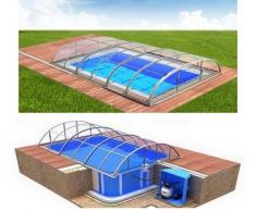Swimmingpool-Komplettset Dallas Clear