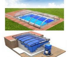 Swimmingpool-Komplettset Quattro Dallas Clear Premium