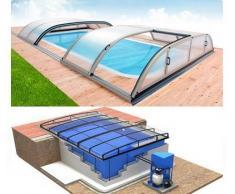 Swimmingpool-Komplettset Quattro Dallas Uno+