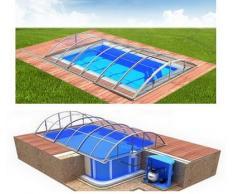 Swimmingpool-Komplettset Klasik Clear