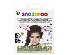 Hasen-Schminkset von Snazaroo Kinderschmink-Set 5-teilig rosa-weiss-schwarz