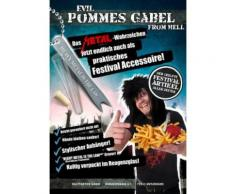 Evil Pommesgabel from Hell Metal Festival Besteck silber 8x1cm