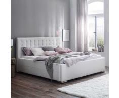 Komfortbett in Weiß Bettkasten