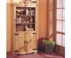 Bücherschrank aus Kiefer Massivholz