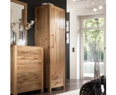 Garderobenschrank aus Wildeiche Massivholz Massivholz