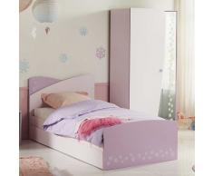 Kinderzimmer Set in Rosa Eiskristall Design (2-teilig)