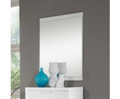 Spiegel in Weiß Hochglanz modern