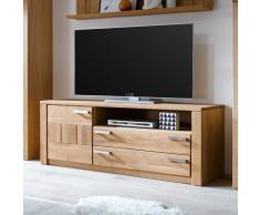 TV Board aus Wildeiche 160 cm breit
