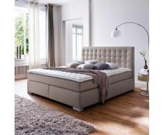 Amerikanisches Bett in Schlamm Kunstleder