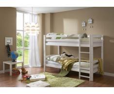 Kinder-Etagenbett in Weiß