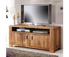TV Schrank aus Wildeiche Massivholz 140 cm breit