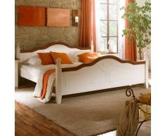 Massivholzbett aus Pinienholz Landhaus Design