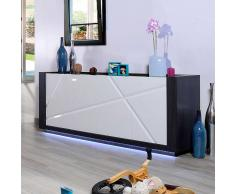 Hochglanz Sideboard mit LED Beleuchtung 200 cm breit