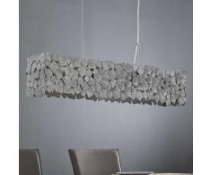 Design Pendelleuchte im Industry Look Stahlplatten