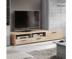 TV Board in Eiche Sonoma 210 cm breit