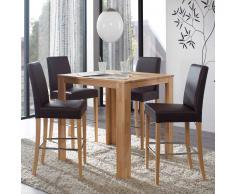 Bartisch mit Stühlen Küche (5-teilig)