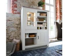 Esszimmer Schrank in Weiß skandinavischer Landhausstil