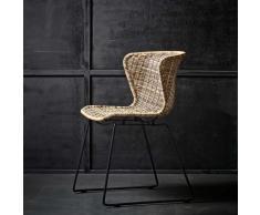 Stuhl im Loft Design Polyrattan (2er Set)