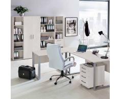 Schreibtisch in Hellgrau 90 cm
