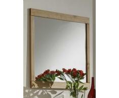 Wandspiegel mit Wildeiche Rahmen