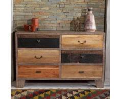 Schubladen Sideboard aus Holz Landhaus