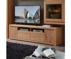TV Lowboard aus Wildeiche Bianco geölt und gewachst