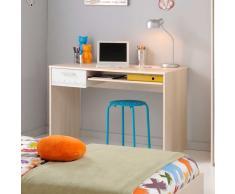 Schreibtisch für Kinderzimmer Akazie Weiß