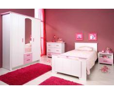 Jugendzimmer komplett für Mädchen (4-teilig)