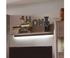 Wandboard in Eiche 110 cm LED Beleuchtung