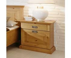 Nachttisch in Kieferfarben Landhaus Design