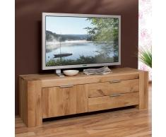 TV Schrank aus Wildeiche Massivholz modern