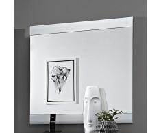 Garderobenspiegel in Weiß modern