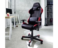 Ergonomischer Bürostuhl im Racer Design Schwarz Rot