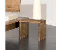 Nachttisch aus Eiche Massivholz 40 cm