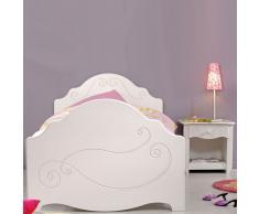Kinderbett für Mädchen (2-teilig)