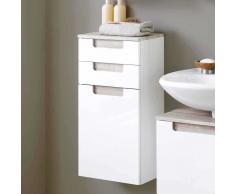 Badezimmer-Hängeschrank mit Griffmulden Wandmontage
