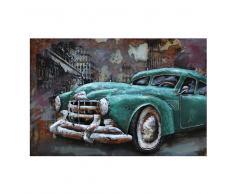 Design Wandbild aus Metall Oldtimer Motiv