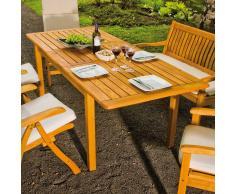 Gartentisch aus Robinie Massivholz ausziehbar